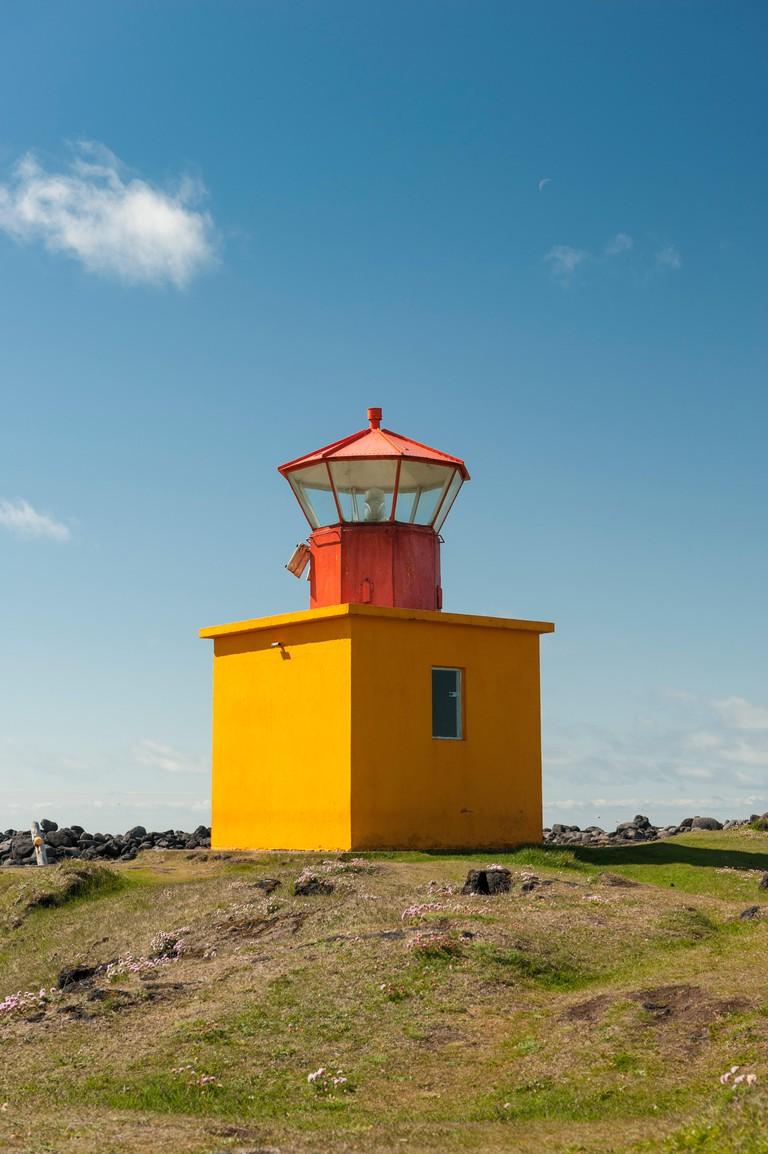 Ondverdanes lighthouse, Snaefellsnes peninsula, Iceland.