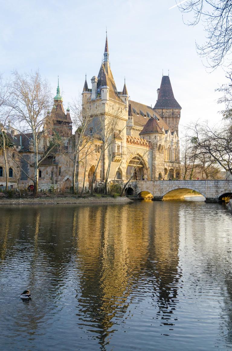 Vajdahunyad Castle, Budapest.