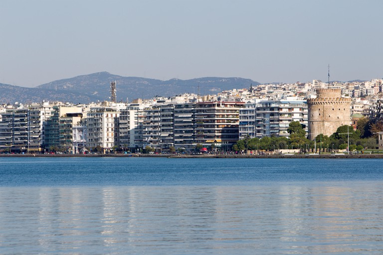 Thessaloniki and White Tower