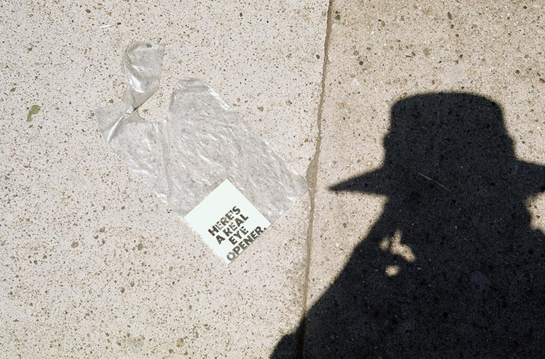 low Self-Portrait, Chicago, June 1976 by Vivian Maier (DO NOT RE USE)
