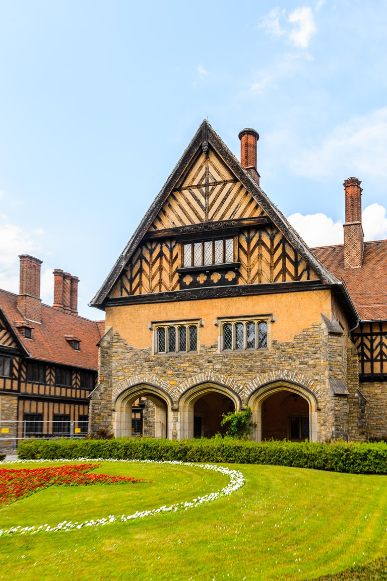 Cecilienhof Palace a palace in Potsdam, Brandenburg, Germany.