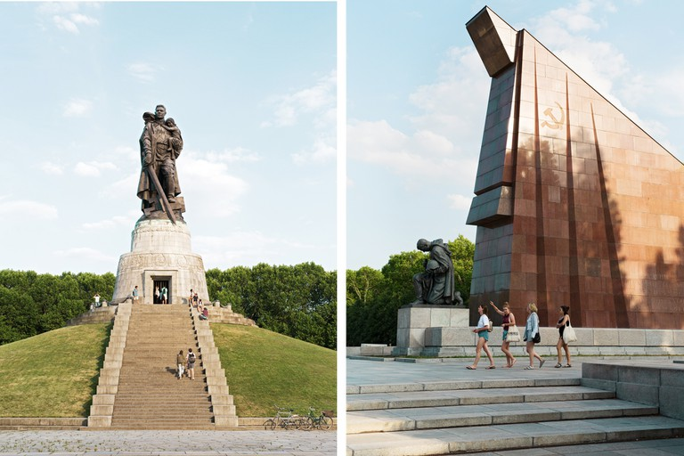 The Soviet War Memorial in Treptower Park was designed by architect Yakov Belopolsky