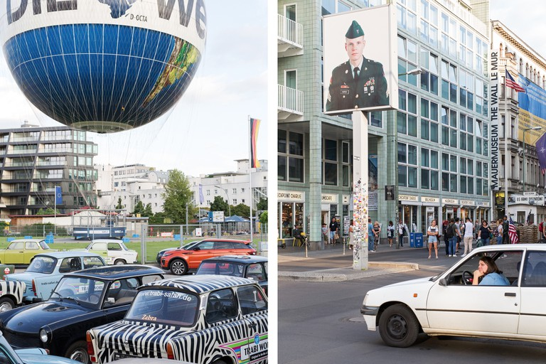 The Trabant took on a new symbolic meaning when the Berlin Wall came down in 1989