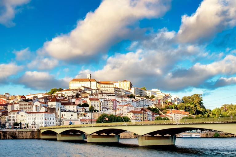 View of Coimbra, Portugal