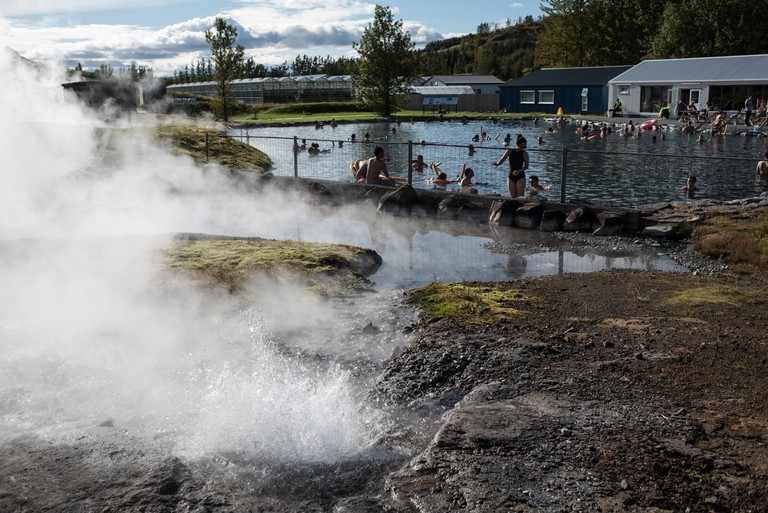 Public lagoon in Iceland