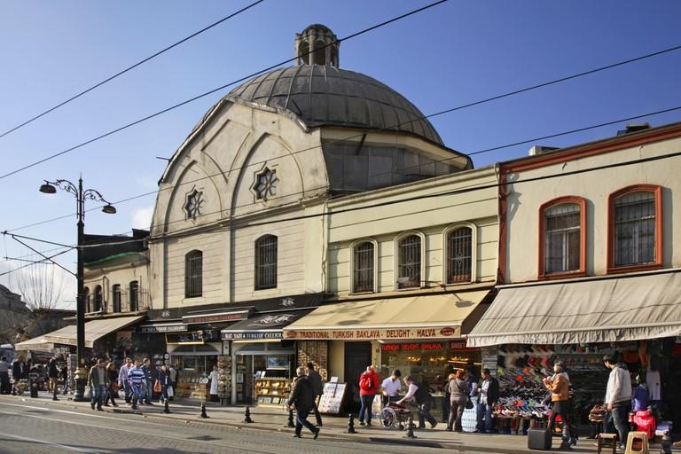 Cemberlitas Hamami in Istanbul. Turkey