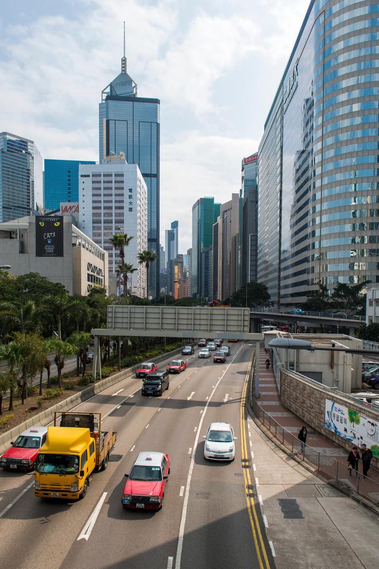 Central buildings in Hong Kong