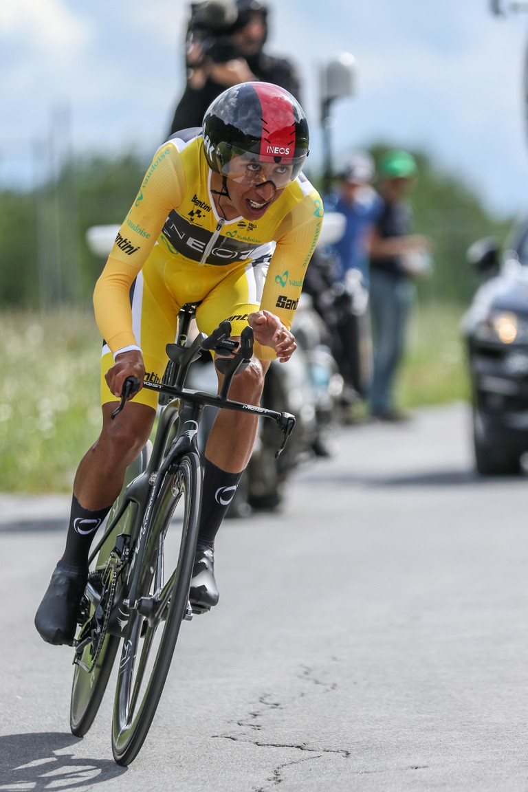Egan Bergal cyclist of Team Ineos competing in the Tour de Suisse 2019
