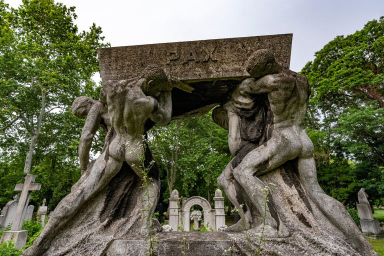 Kerepesi cemetery in Budapest