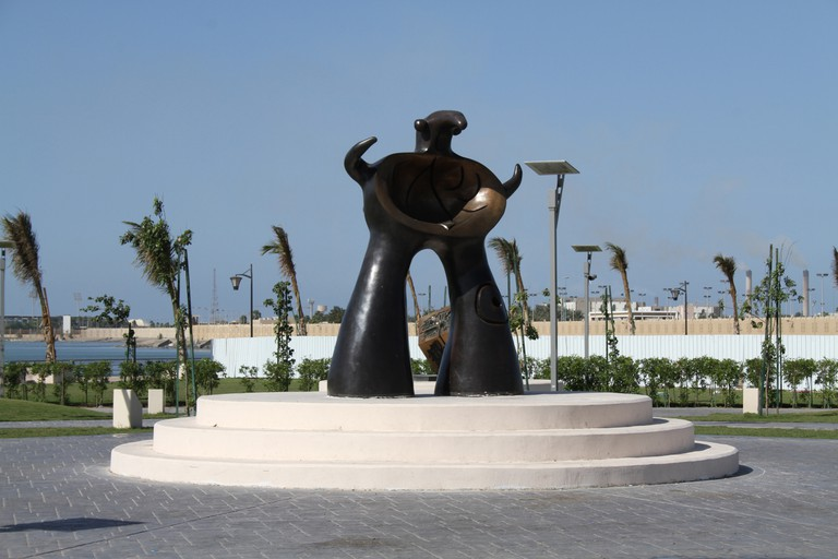 Project for a Monument by Joan Miro