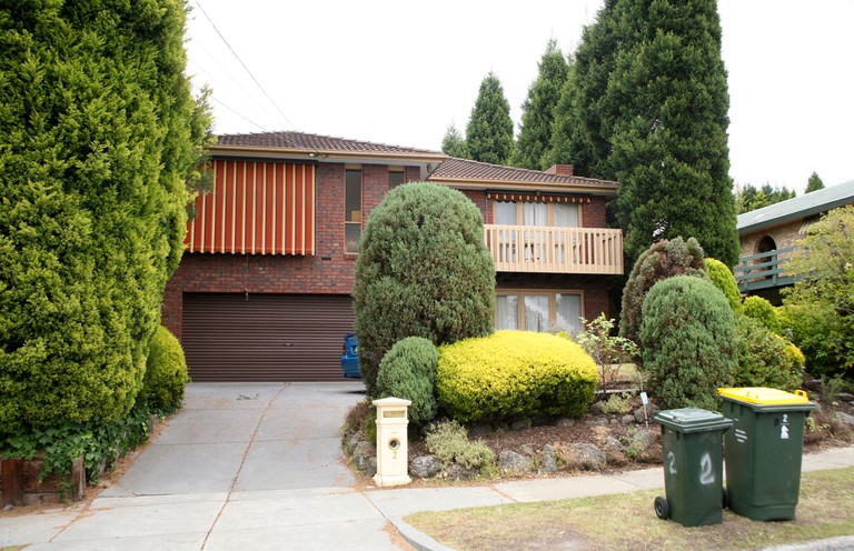 Pin Oak Court which doubles as Ramsay Street in soap opera Neighbours.