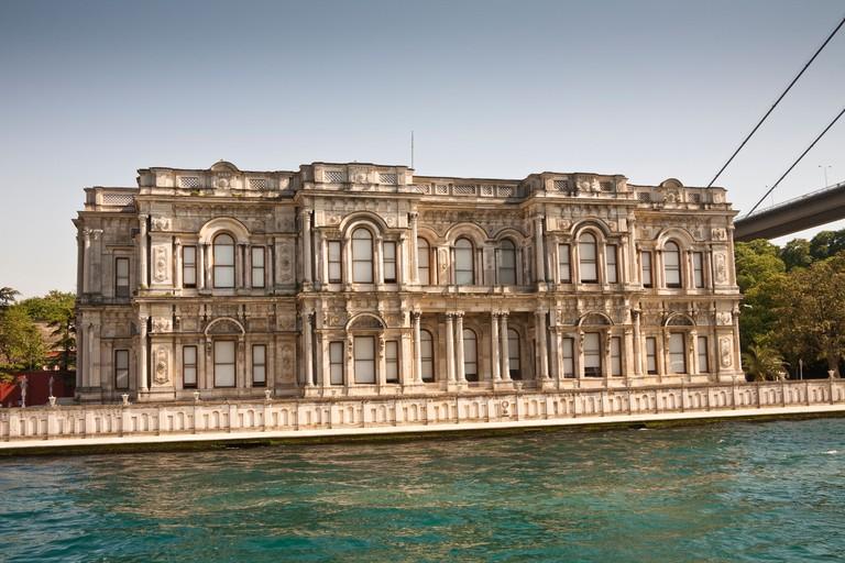 Beylerbeyi Palace, Uskudar, on the Asian side of the Bosphorus, Istanbul, Turkey