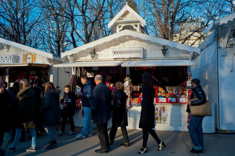 Christmas Market in Paris.