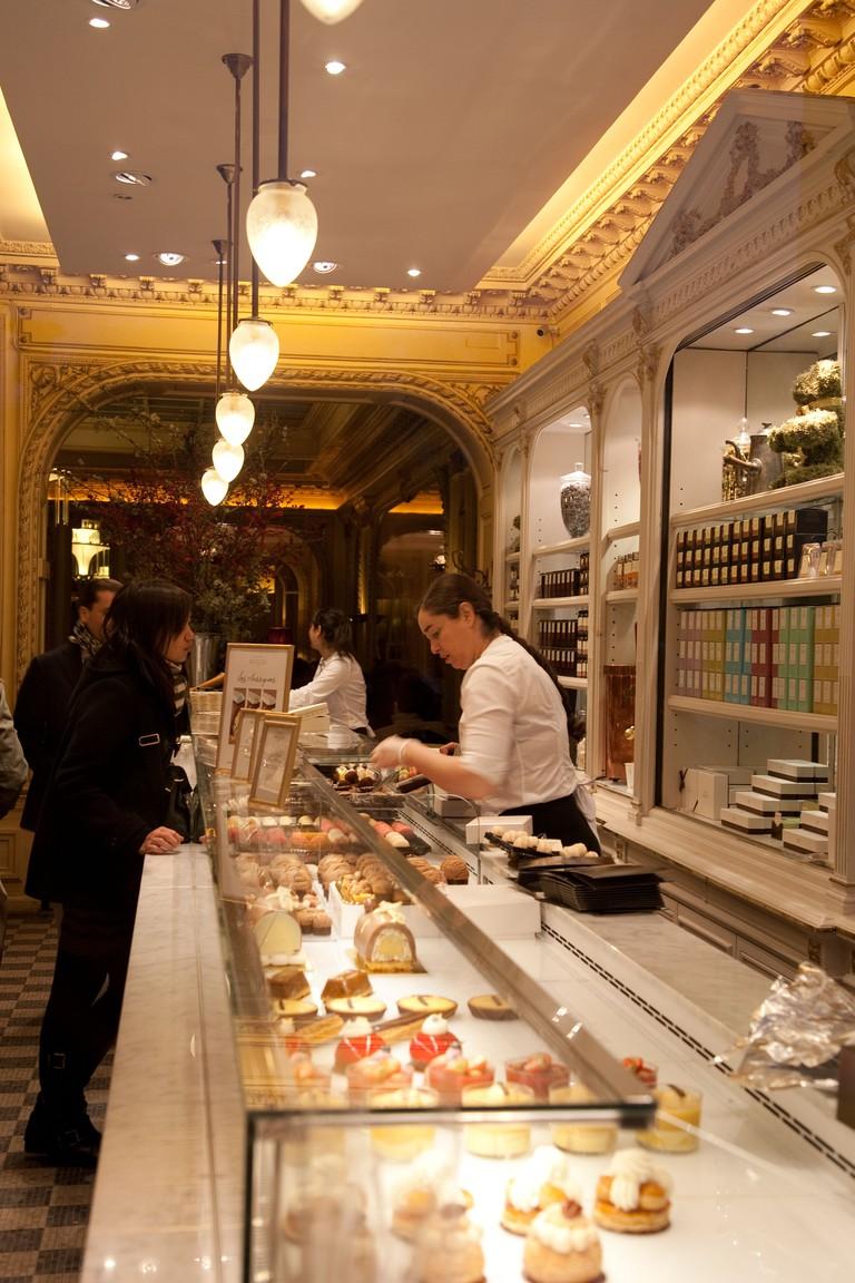 Angelina Chocolate Shop, Rue de Rivoli, Paris