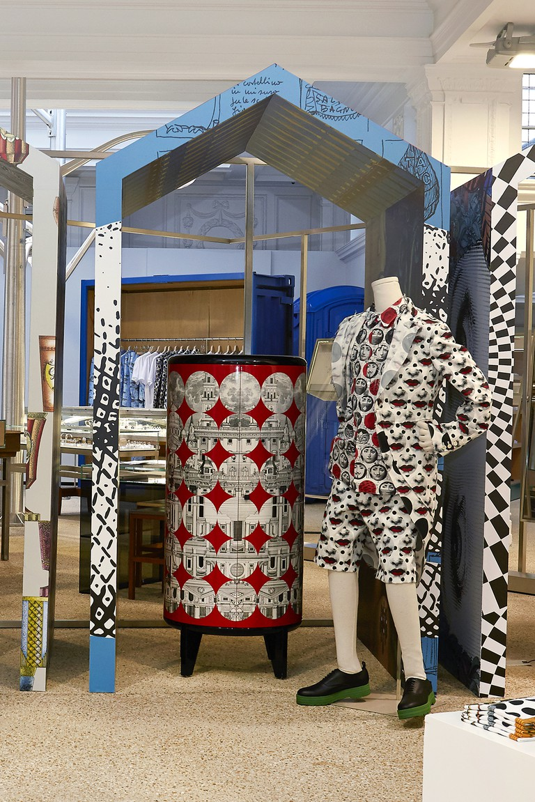 Comme des Garcons Homme Plus x Fornasetti Installation - Ground Floor (5)