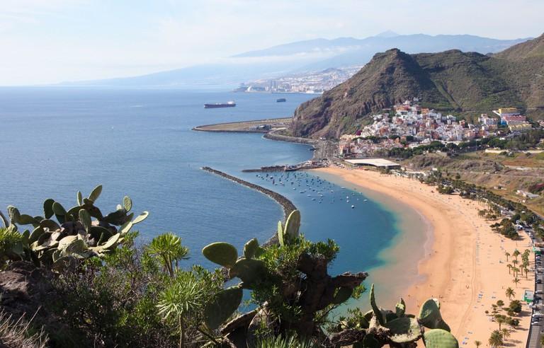 Playa de Las Teresitas, north of Tenerife, Canary Islands
