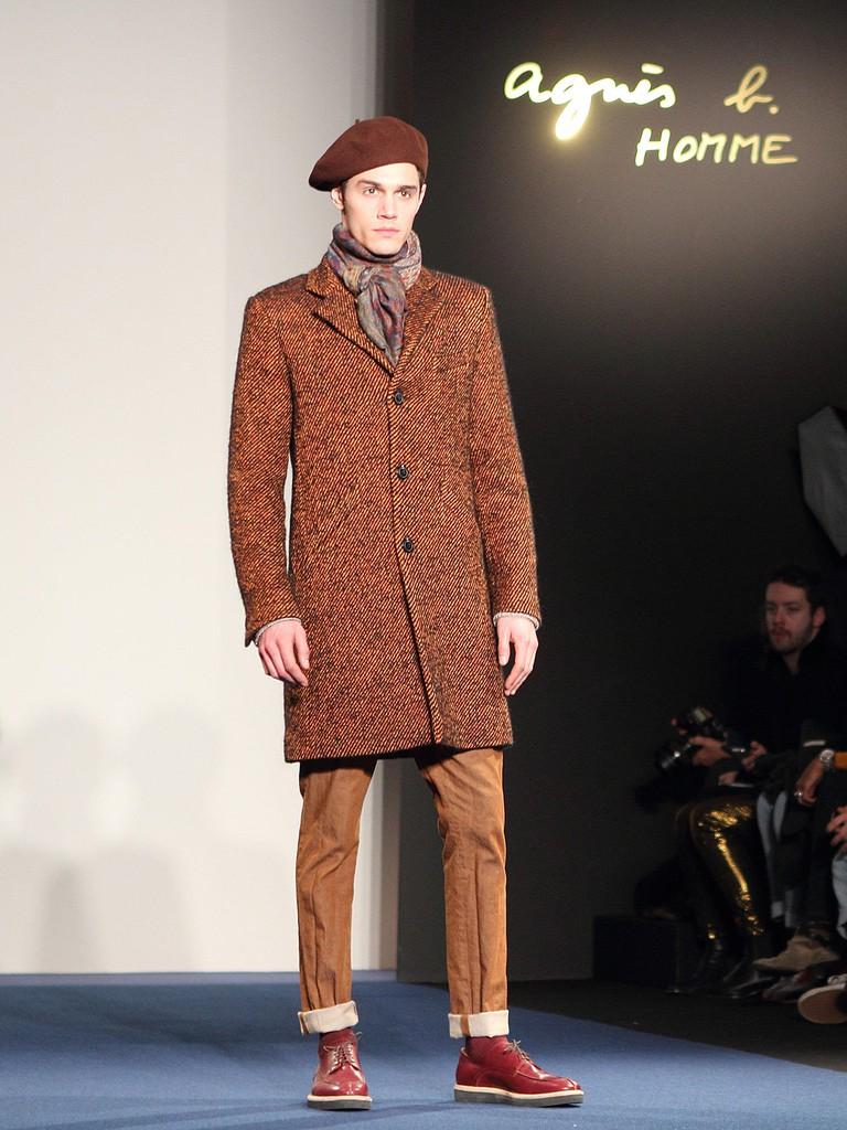 Paris Homme mens' fashion week, in Paris, France.