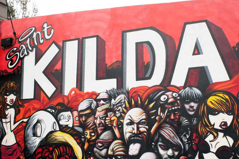 St Kilda. Melbourne.