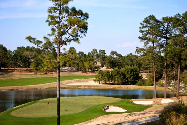 Pinehurst Golf Resort and Country Club in Pinehurst North Carolina, Course #4