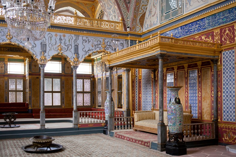 Imperial Hall, Harem, Topkapi Palace, Istanbul, Turkey
