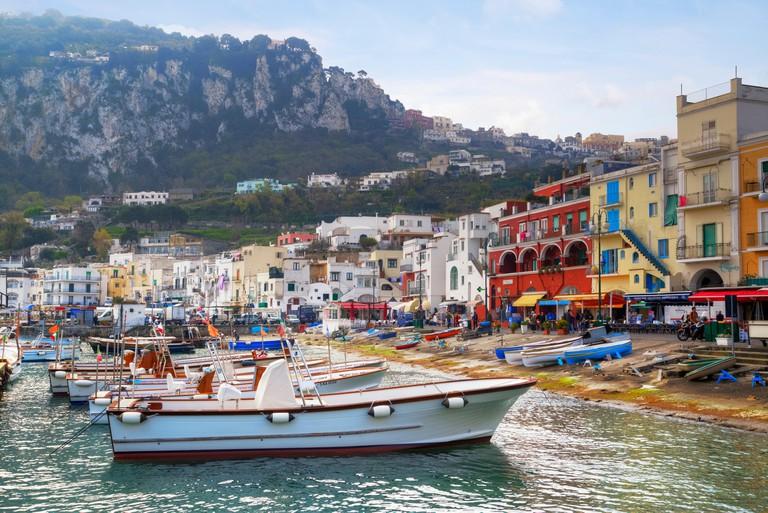 Marina Grande, Capri, Naples, Campania, Italy