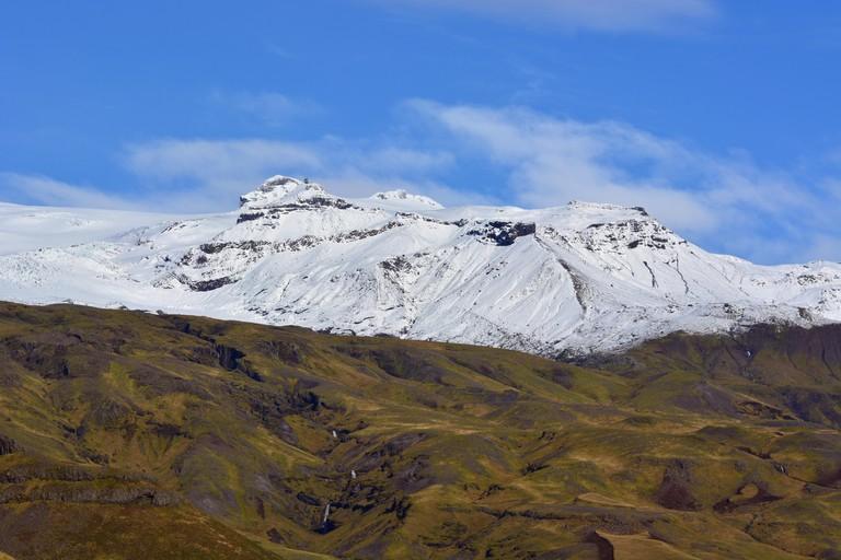 Eyjafjallajokull in Iceland