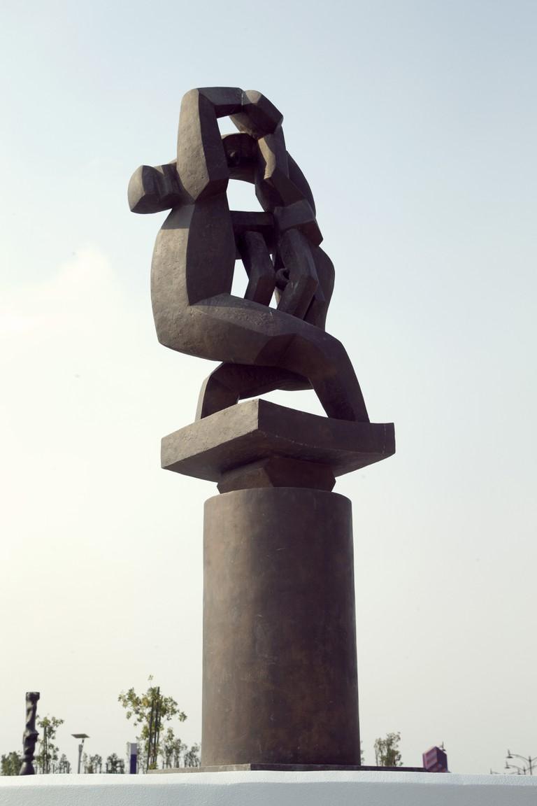 Jacques Lipchitz (1891-1973) La Joie de Vivre (Joy of Life) Bronze; height 300cm