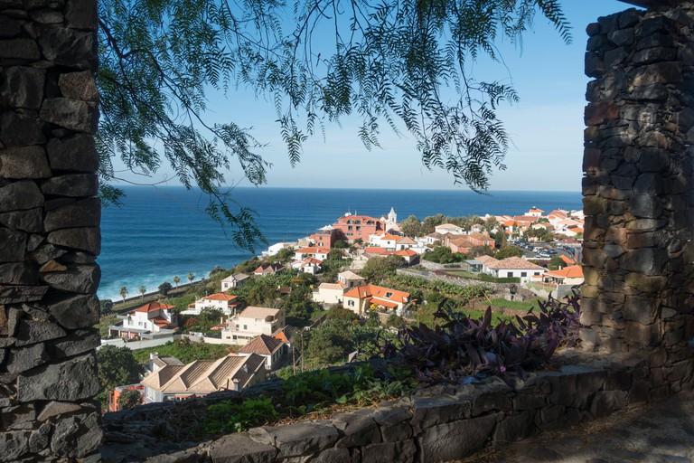 The village of Jardim Do Mar, Madeira