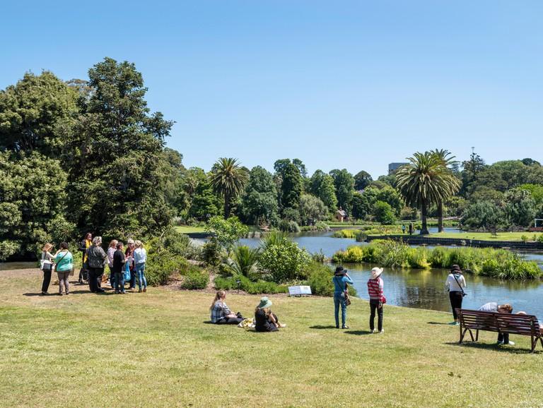 Royal Botanic Gardens, Melbourne, Australia.