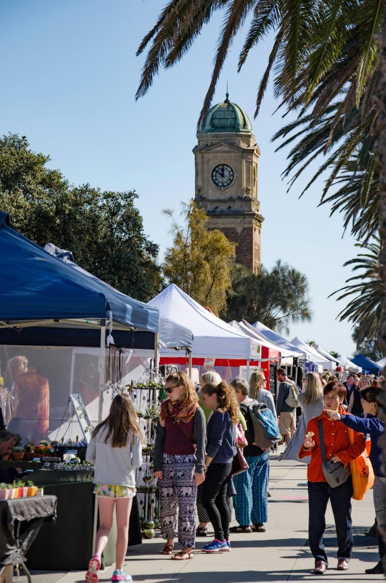 The Esplanade Market, St Kilda, Melbourne, Australia.