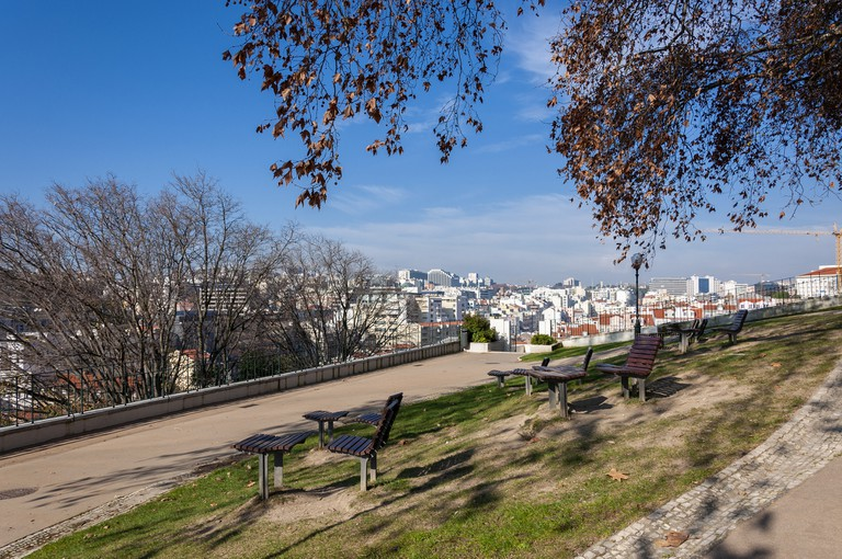 The Torel Garden offers fantastic views of the city
