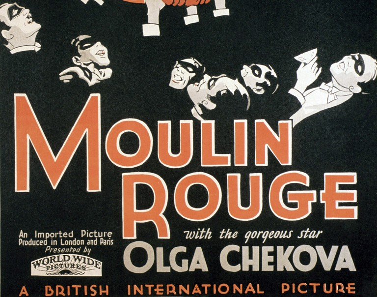 Moulin Rouge, poster, 1928.