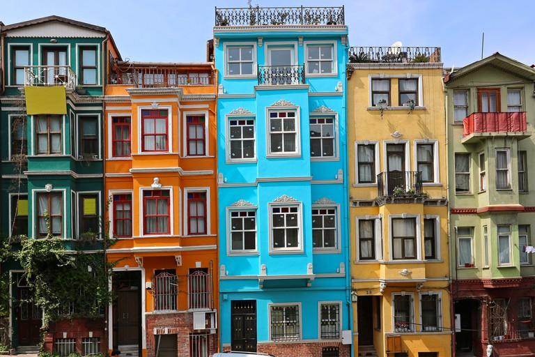 Balat in Istanbul, Turkey.
