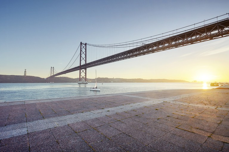 The River Tagus comes into its own at sunset