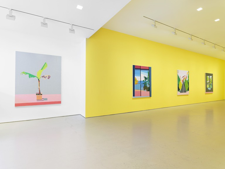 Guy Yanai's installation at the Miles McEnery Gallery in New York City