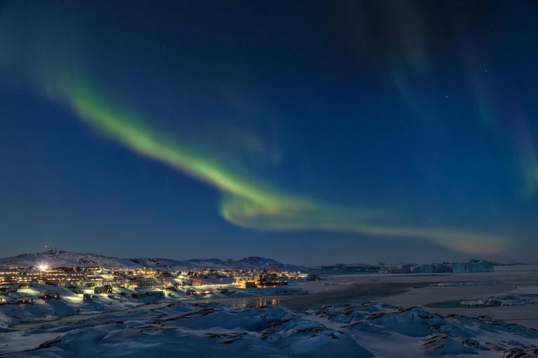 Northern Lights over Ilulissat, Greenland