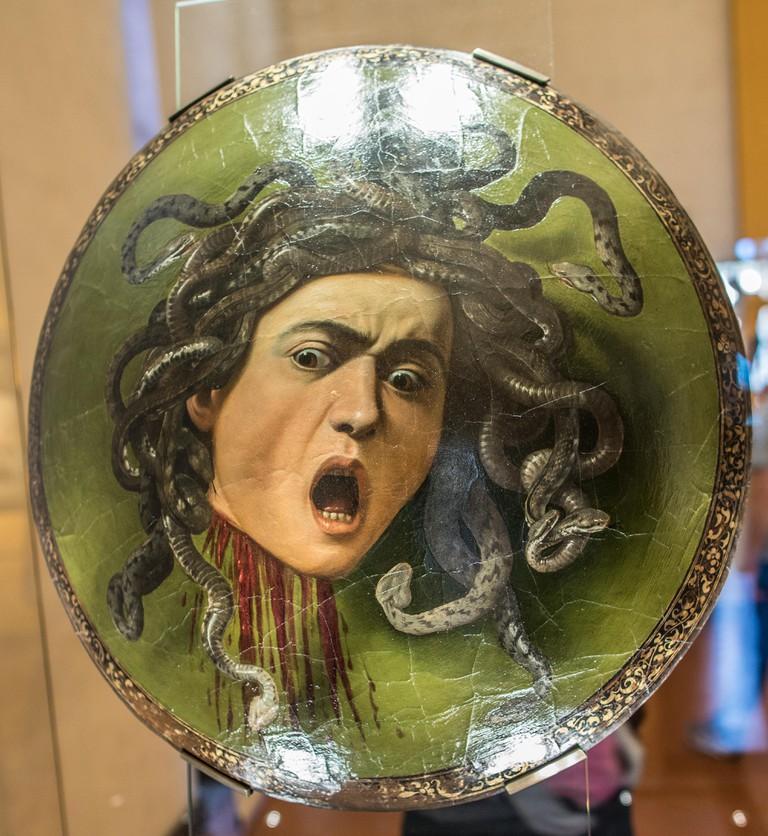 Medusa by Caravaggio