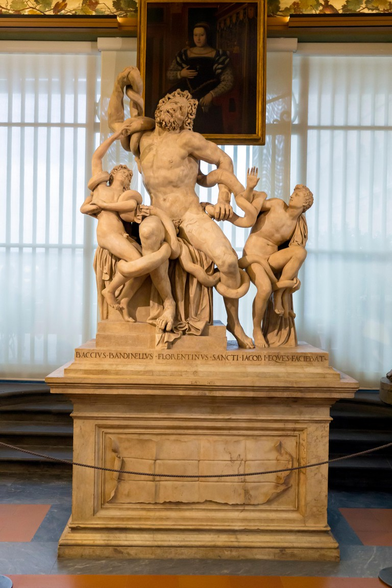 Laocoön and his Sons by Baccio Bandinelli