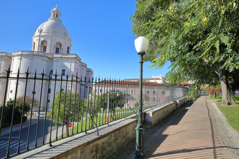 The Jardim Botto Machado affords great views of the National Pantheon