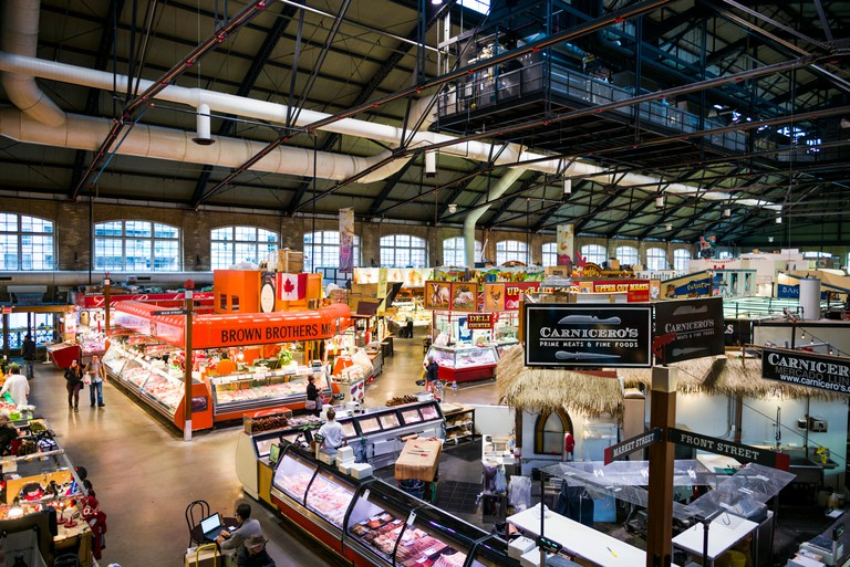 Explore the St-Lawerence Market, a fixture of Toronto's Old Town since 1850