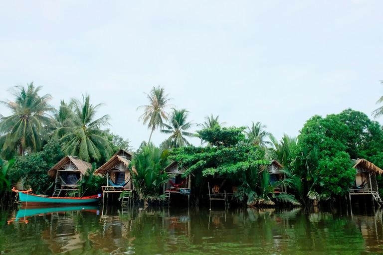 Exterior of Eden Eco Village
