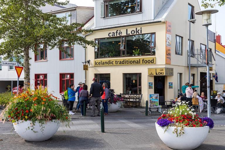 CAFE LOKI, TRADITIONAL ICELANDIC FOOD (VIKING), REYKJAVIK, ICELAND, EUROPE