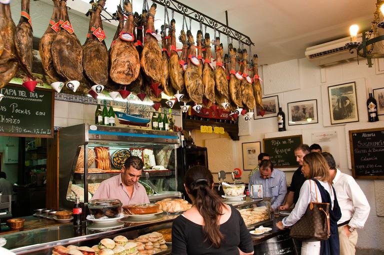 Jamon bar, Seville