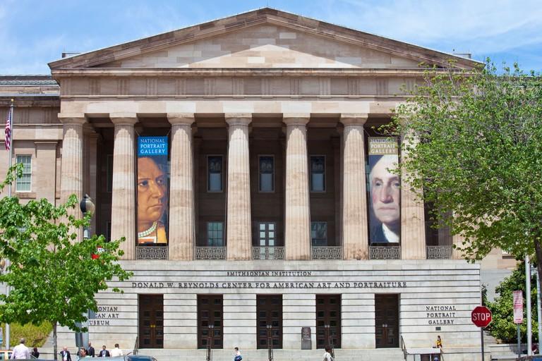 Smithsonian Institution, National Portrait Gallery, Washington DC