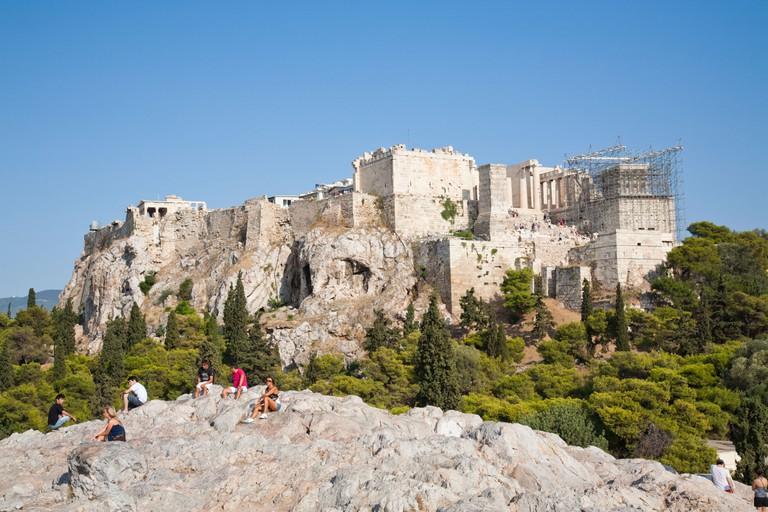 The Acropolis and the Parthenon Temple