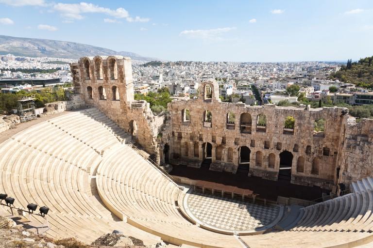 Herodes Atticus Theatre, Acropolis, Athens Greece