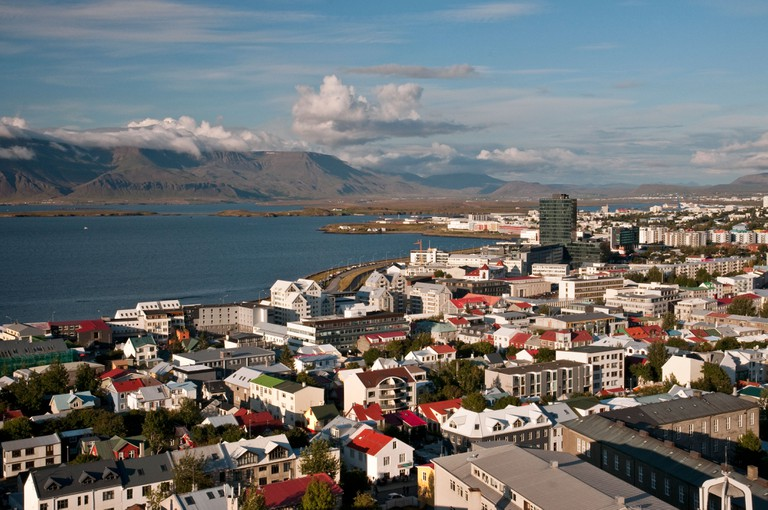 View of Reykjavik, Iceland