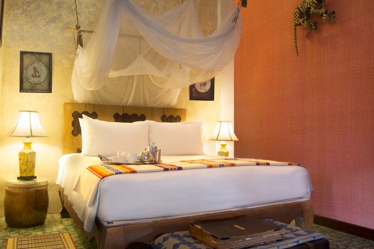Guest room at Bric-a-Brac