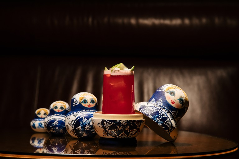 Try The Spicy Matrjoschka at D-bar, served in nesting dolls