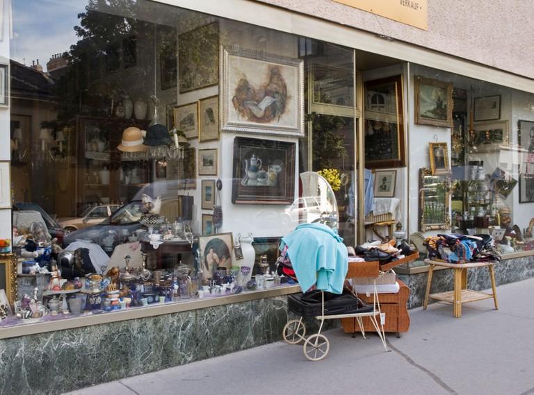Antique shop in Neubau district